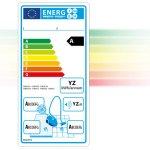 Nové energetické štítky vysavačů
